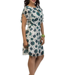 Buy Multicolor georgette stitched kurti georgette-kurti online