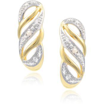 Ag Real Diamond  Sonal Earring