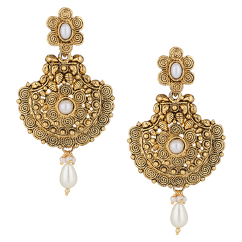 Pearl sets earrings bridal jewellery sets jhumki jhumka dangler drop earrings
