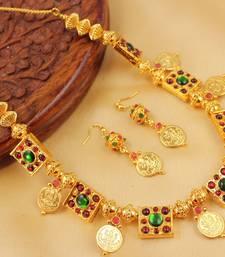 Lovely Handmade Temple Necklace Set Dj04432