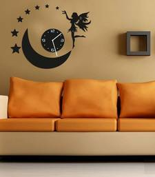 Buy Black round wall clocks new-year-gift online