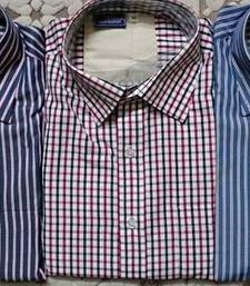 Buy 	 SHIRTS - MEN SHIRTS COMBO OF 3 PIECES, AVAILABLE IN 42 SIZE ONLY gifts-for-dad online