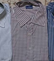 Buy  SHIRTS - MEN SHIRTS COMBO OF 3 PIECES, AVAILABLE IN 42 SIZE ONLY gifts-for-brother online