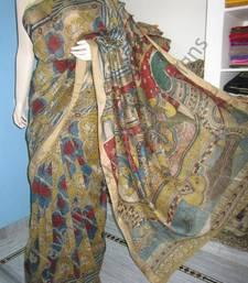 Buy Kalamkari saree kalamkari-saree online