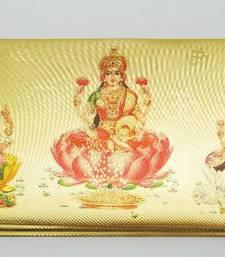 Buy Gold Foil Envelops with Lakshmi engagement-gift online