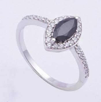 Black Onyx Gemstone Ring In 925 Sterling Silver Rings