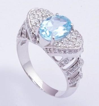 Silver Topaz   Rings