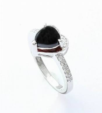 Silver Spinel Rings
