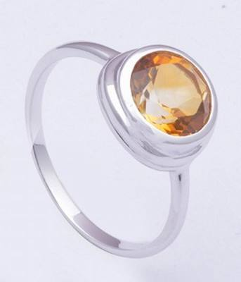 Sterling Silver Citrine Rings