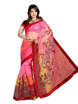 Zoom Fabric nett Saree 2412