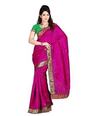 Zoom Fabric bhaglpuri Saree 2413