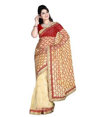 Zoom Fabric nett Saree 2414