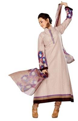 Triveni Adorable Brown Indian Ethnic Salwar Kameez TSXKRSK1202