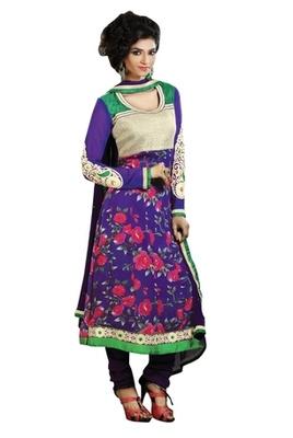 Triveni Astonoshing Faux Georgette Indian Designer Salwar Kameez TSXGTSK2104a