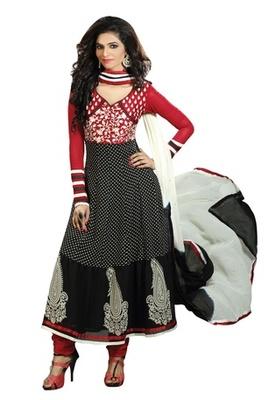Triveni Astonoshing Faux Georgette Indian Designer Salwar Kameez TSXGTSK2106b