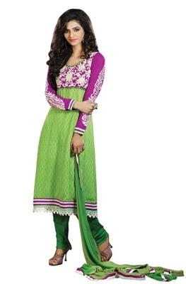 Triveni Astonoshing Faux Georgette Indian Designer Salwar Kameez TSXGTSK2107a