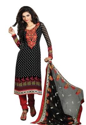 Triveni Astonoshing Faux Georgette Indian Designer Salwar Kameez TSXGTSK2112