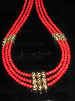 Elegant Red Layer Necklace