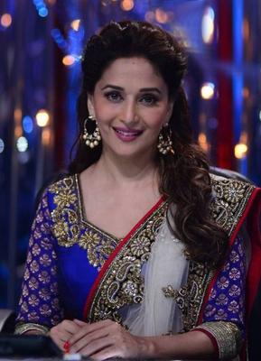 Buy Madhuri Dixit Bollywood Red Lehenga Online