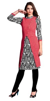 Multicolor Georgette Printed Stitched Kurti