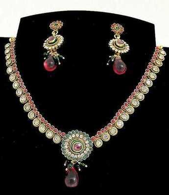 Fancy Multi Necklace Set