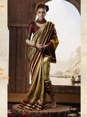 Gorgeous Bhagalpuri Printed saree