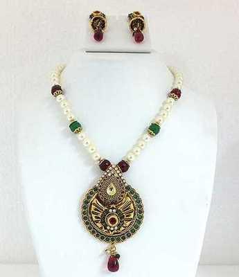 Antique Multi Necklace Set
