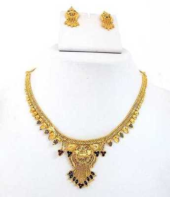 Fashion Gold Necklace Set