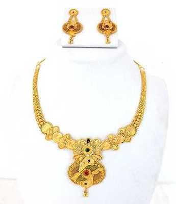 Festival Gold Necklace Set