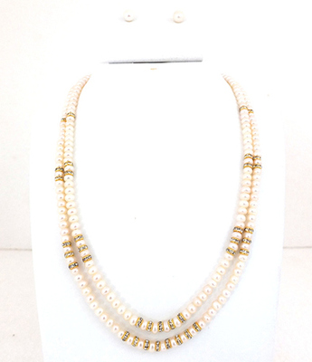 Two Lines Chakri Pearls Set