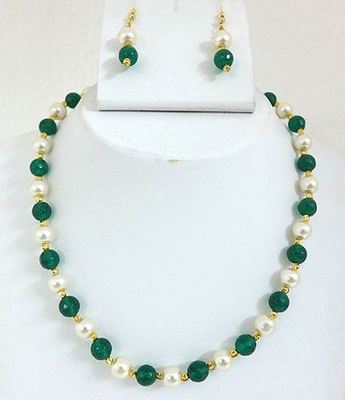 Shell Pearl Green set
