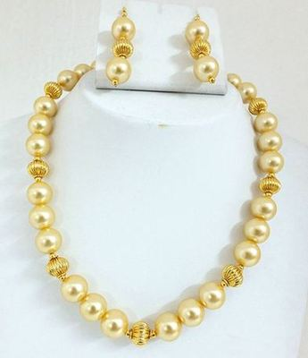 Elegant shell Pearl  party set