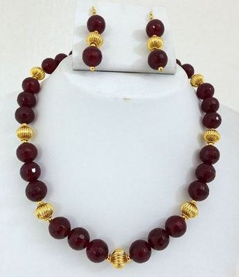 Red onyx   party set