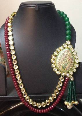 Creativ Designer Kundan Broach Necklace