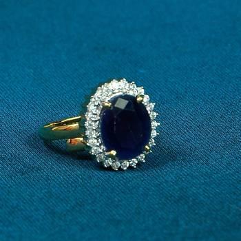 Attractive AD Diamond Ring