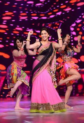 Madhuri Dixit Pink Lehanga