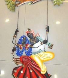 Diwali deocorations Radha Krishna Under Jhula