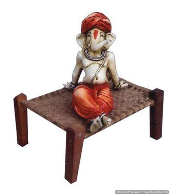 Ganesha on Cot