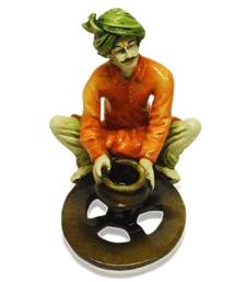 Buy Rajasthani Man Making Pottery wedding-gift online