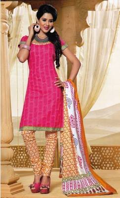 Dress Material Elegant Cotton Printed Unstitched Salwar Kameez Suit D.No M1602