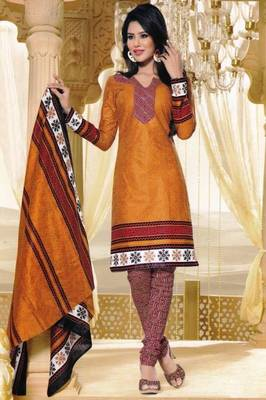 Dress Material Elegant Cotton Printed Unstitched Salwar Kameez Suit D.No M1607