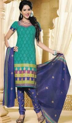 Dress Material Elegant Cotton Printed Unstitched Salwar Kameez Suit D.No M1608