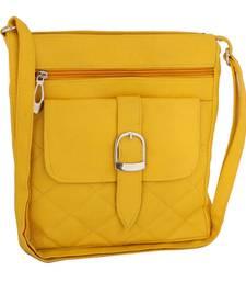 Unique Yellow Cross-Body Sling Bag sling-bag