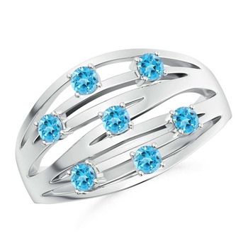 Silver Cubic Zirconia Rings