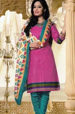 Dress Material Elegant Cotton Printed Unstitched Salwar Kameez Suit D.No M1626