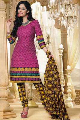 Dress Material Elegant Cotton Printed Unstitched Salwar Kameez Suit D.No M1632