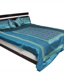 Aqua Color Bedcover set