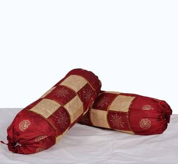 Amazing Polysilk Bolster Pair set