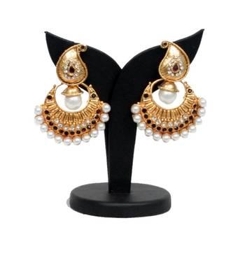 Paisley earring