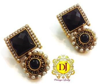 Black Desire earrings